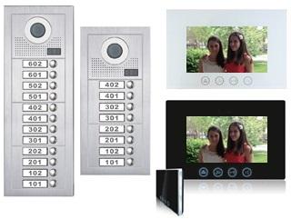 2 Wire Video Intercom System